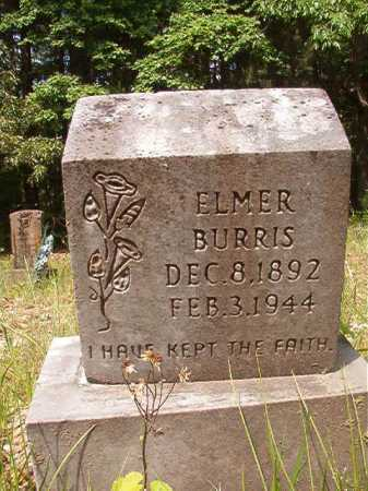 BURRIS, ELMER - Columbia County, Arkansas | ELMER BURRIS - Arkansas Gravestone Photos