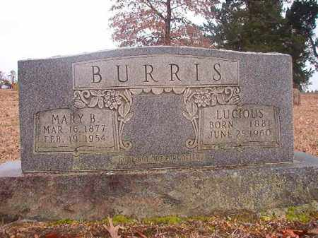 BURRIS, MARY B - Columbia County, Arkansas | MARY B BURRIS - Arkansas Gravestone Photos