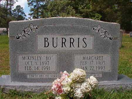 BURRIS, MARGARET - Columbia County, Arkansas | MARGARET BURRIS - Arkansas Gravestone Photos