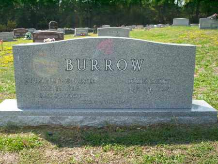 BURROW, ELIZABETH - Columbia County, Arkansas | ELIZABETH BURROW - Arkansas Gravestone Photos