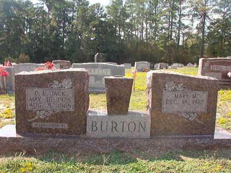 "BURTON, C L ""JACK"" - Columbia County, Arkansas | C L ""JACK"" BURTON - Arkansas Gravestone Photos"