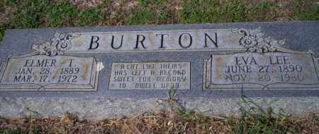 BURTON, ELMER T - Columbia County, Arkansas | ELMER T BURTON - Arkansas Gravestone Photos