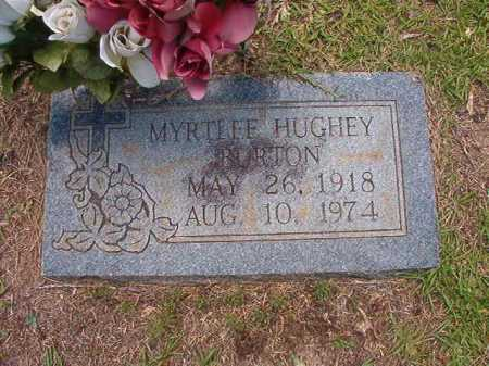 HUGHEY BURTON, MYRTLEE - Columbia County, Arkansas | MYRTLEE HUGHEY BURTON - Arkansas Gravestone Photos