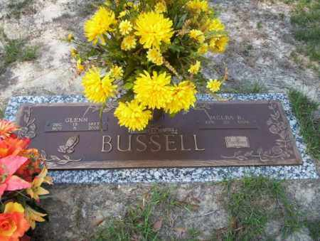 BUSSELL, GLENN - Columbia County, Arkansas | GLENN BUSSELL - Arkansas Gravestone Photos