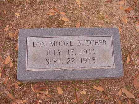 BUTCHER, LON MOORE - Columbia County, Arkansas | LON MOORE BUTCHER - Arkansas Gravestone Photos