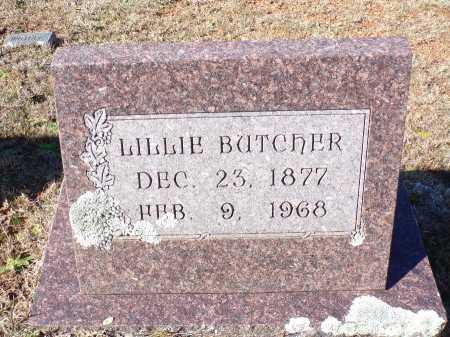 BUTCHER, LILLIE - Columbia County, Arkansas | LILLIE BUTCHER - Arkansas Gravestone Photos