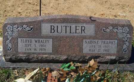 BUTLER, FLOYD WHALEY - Columbia County, Arkansas | FLOYD WHALEY BUTLER - Arkansas Gravestone Photos