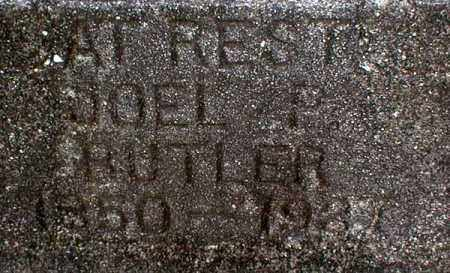 BUTLER, JOEL PERRY - Columbia County, Arkansas | JOEL PERRY BUTLER - Arkansas Gravestone Photos