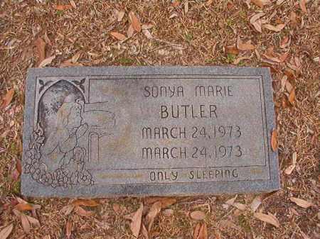 BUTLER, SONYA MARIE - Columbia County, Arkansas   SONYA MARIE BUTLER - Arkansas Gravestone Photos