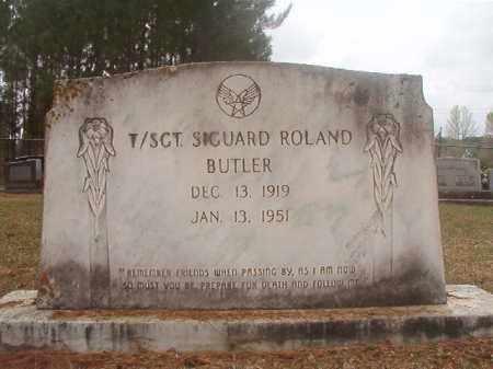 BUTLER (VETERAN), SIGUARD ROLAND - Columbia County, Arkansas | SIGUARD ROLAND BUTLER (VETERAN) - Arkansas Gravestone Photos
