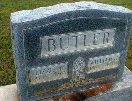 BUTLER, WILLIAM HUDSON - Columbia County, Arkansas | WILLIAM HUDSON BUTLER - Arkansas Gravestone Photos