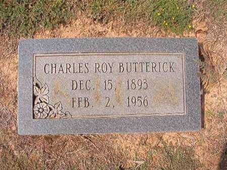 BUTTERICK, CHARLES ROY - Columbia County, Arkansas | CHARLES ROY BUTTERICK - Arkansas Gravestone Photos