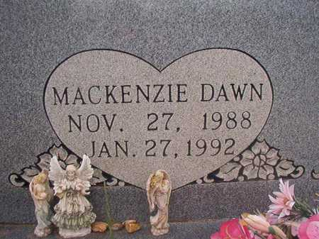 BUTTS, MACKENZIE DAWN - Columbia County, Arkansas | MACKENZIE DAWN BUTTS - Arkansas Gravestone Photos