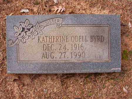 BYRD, KATHERINE - Columbia County, Arkansas | KATHERINE BYRD - Arkansas Gravestone Photos