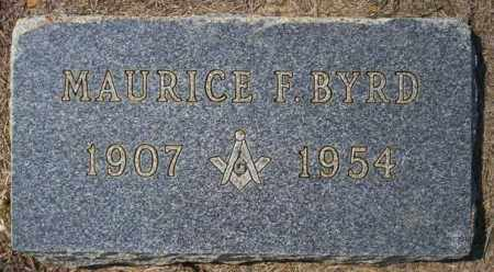 BYRD, MAURICE - Columbia County, Arkansas | MAURICE BYRD - Arkansas Gravestone Photos