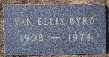 BYRD, VAN ELLIS - Columbia County, Arkansas | VAN ELLIS BYRD - Arkansas Gravestone Photos