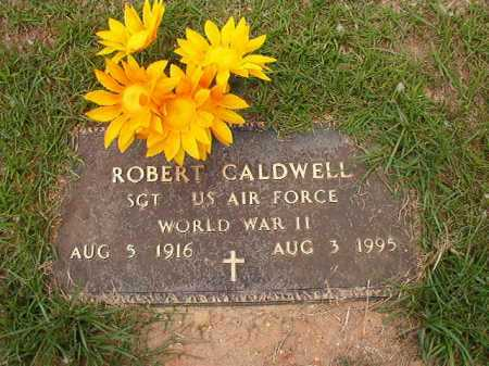 CALDWELL (VETERAN WWII), ROBERT - Columbia County, Arkansas | ROBERT CALDWELL (VETERAN WWII) - Arkansas Gravestone Photos