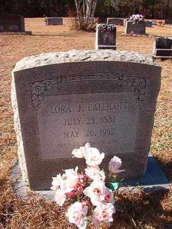 CALLICOTT, LORA J - Columbia County, Arkansas | LORA J CALLICOTT - Arkansas Gravestone Photos