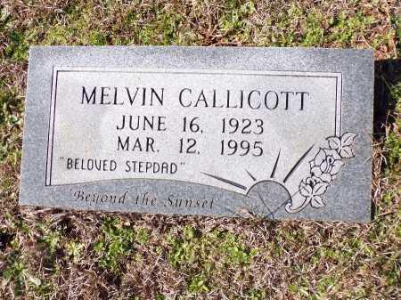 CALLICOTT, MELVIN - Columbia County, Arkansas | MELVIN CALLICOTT - Arkansas Gravestone Photos