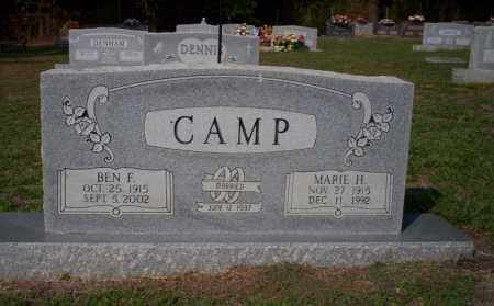 CAMP, BEN F - Columbia County, Arkansas | BEN F CAMP - Arkansas Gravestone Photos