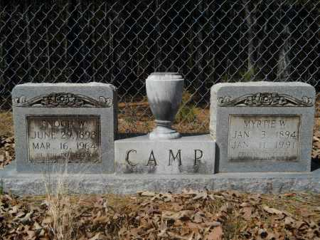 CAMP, ENOCH W - Columbia County, Arkansas | ENOCH W CAMP - Arkansas Gravestone Photos