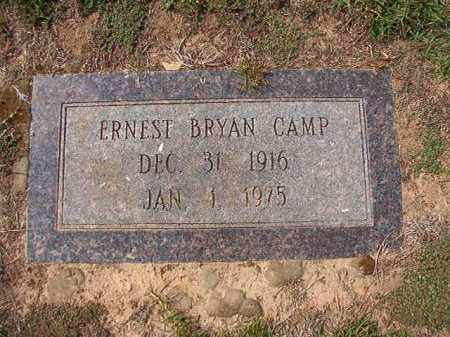 CAMP, ERNEST BRYAN - Columbia County, Arkansas | ERNEST BRYAN CAMP - Arkansas Gravestone Photos