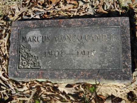CAMP, JR., MARCUS ALONZO - Columbia County, Arkansas | MARCUS ALONZO CAMP, JR. - Arkansas Gravestone Photos