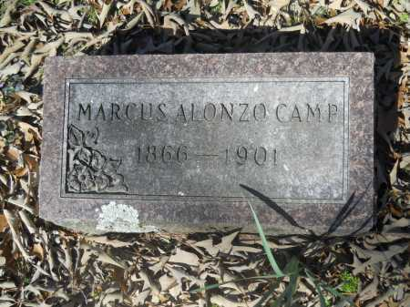 CAMP, MARCUS ALONZO - Columbia County, Arkansas | MARCUS ALONZO CAMP - Arkansas Gravestone Photos