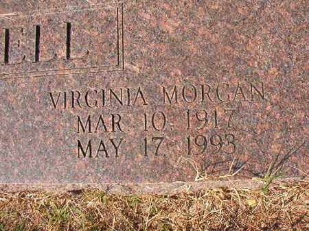 MORGAN CAMPBELL, VIRGINIA - Columbia County, Arkansas | VIRGINIA MORGAN CAMPBELL - Arkansas Gravestone Photos