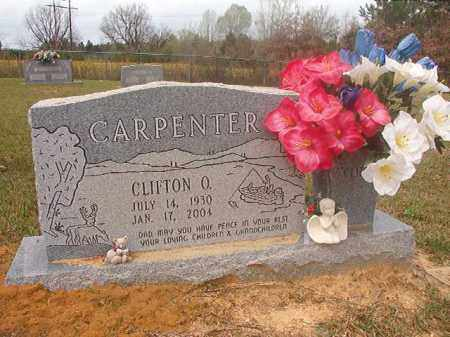 CARPENTER, CLIFTON O - Columbia County, Arkansas | CLIFTON O CARPENTER - Arkansas Gravestone Photos