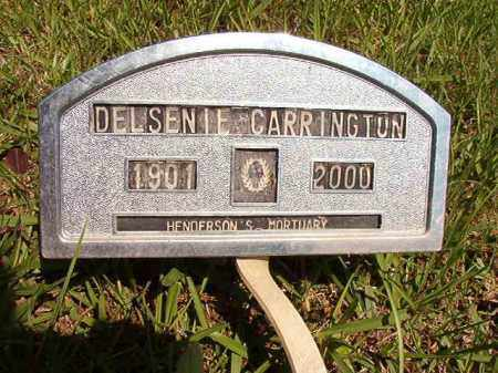 CARRINGTON, DELSENIE - Columbia County, Arkansas | DELSENIE CARRINGTON - Arkansas Gravestone Photos