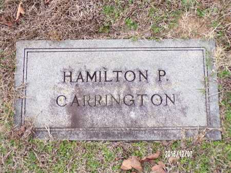 CARRINGTON, HAMILTON P - Columbia County, Arkansas | HAMILTON P CARRINGTON - Arkansas Gravestone Photos