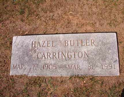 BUTLER CARRINGTON, HAZEL - Columbia County, Arkansas | HAZEL BUTLER CARRINGTON - Arkansas Gravestone Photos