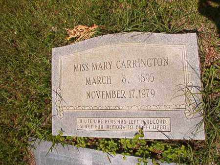 CARRINGTON, MARY - Columbia County, Arkansas | MARY CARRINGTON - Arkansas Gravestone Photos