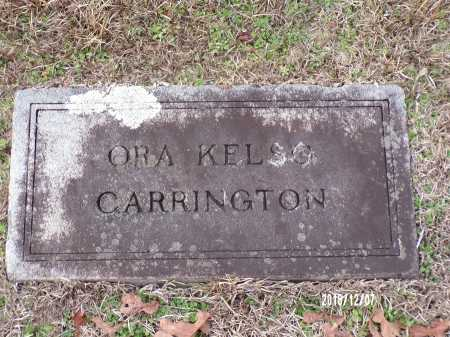 KELSO CARRINGTON, ORA - Columbia County, Arkansas | ORA KELSO CARRINGTON - Arkansas Gravestone Photos