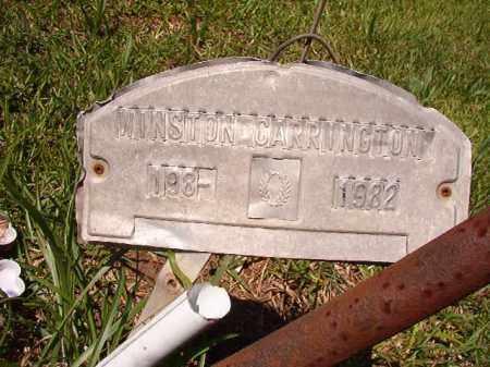 CARRINGTON, WINSTON - Columbia County, Arkansas | WINSTON CARRINGTON - Arkansas Gravestone Photos