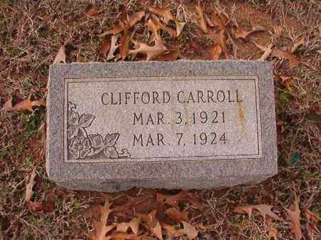 CARROLL, CLIFFORD - Columbia County, Arkansas | CLIFFORD CARROLL - Arkansas Gravestone Photos