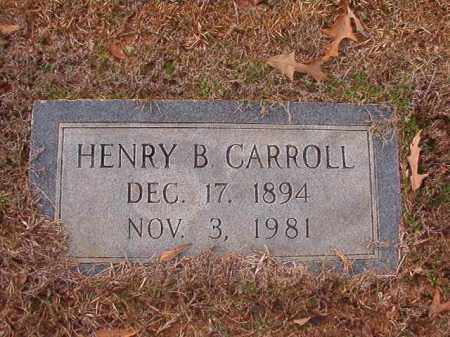 CARROLL, HENRY B - Columbia County, Arkansas | HENRY B CARROLL - Arkansas Gravestone Photos