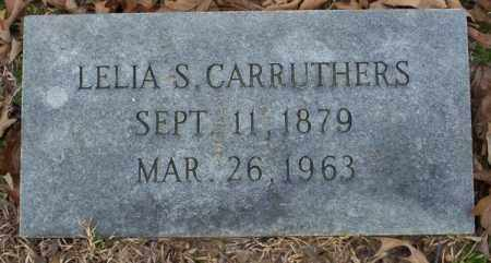 CARRUTHERS, LELIA S - Columbia County, Arkansas | LELIA S CARRUTHERS - Arkansas Gravestone Photos