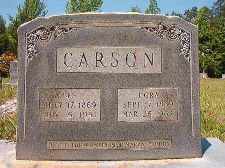 WARREN CARSON, LEE - Columbia County, Arkansas | LEE WARREN CARSON - Arkansas Gravestone Photos