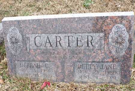 CARTER, BETTY JANE - Columbia County, Arkansas | BETTY JANE CARTER - Arkansas Gravestone Photos