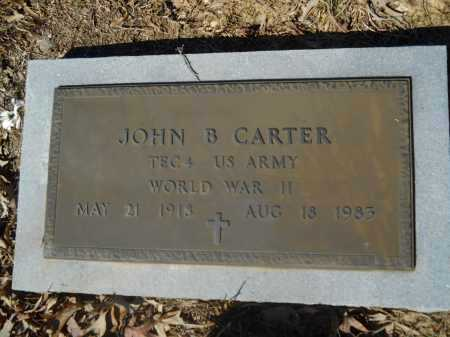 CARTER (VETERAN WWII), JOHN B - Columbia County, Arkansas | JOHN B CARTER (VETERAN WWII) - Arkansas Gravestone Photos