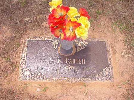 CARTER, O V - Columbia County, Arkansas | O V CARTER - Arkansas Gravestone Photos
