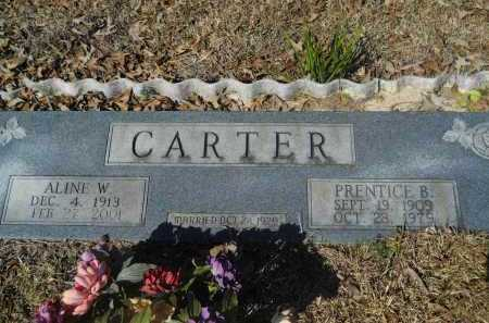 CARTER, ALINE W - Columbia County, Arkansas | ALINE W CARTER - Arkansas Gravestone Photos