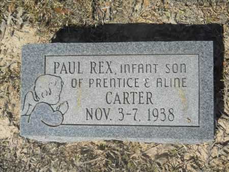 CARTER, PAUL REX - Columbia County, Arkansas | PAUL REX CARTER - Arkansas Gravestone Photos