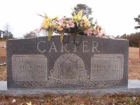 CARTER, UEL W (TEX) - Columbia County, Arkansas | UEL W (TEX) CARTER - Arkansas Gravestone Photos