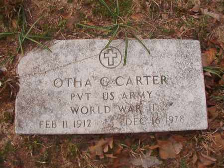 CARTER (VETERAN WWII), OTHA C - Columbia County, Arkansas | OTHA C CARTER (VETERAN WWII) - Arkansas Gravestone Photos