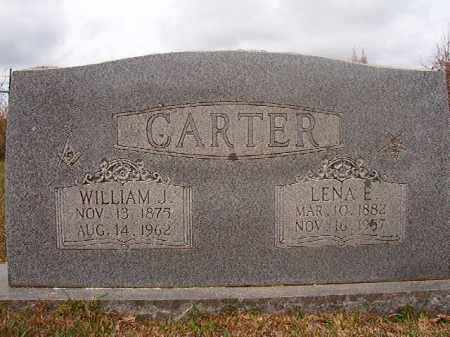 CARTER, WILLIAM J - Columbia County, Arkansas | WILLIAM J CARTER - Arkansas Gravestone Photos