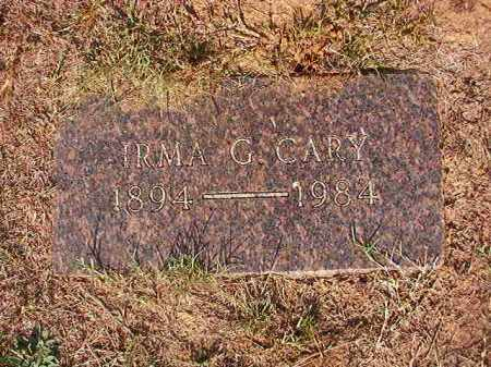 CARY, IRMA G - Columbia County, Arkansas | IRMA G CARY - Arkansas Gravestone Photos
