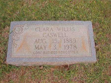 WILLIS CASWELL, CLARA - Columbia County, Arkansas | CLARA WILLIS CASWELL - Arkansas Gravestone Photos